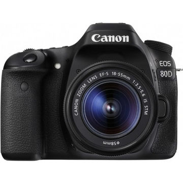 buy canon eos 80d dslr camera with 18-55mm lens in india imastudent.com