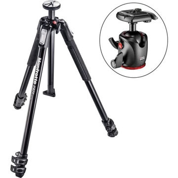 buy Manfrotto MT190X3 Tripod with BHQ2 XPRO Ball Head with 200PL in India imastudent.com
