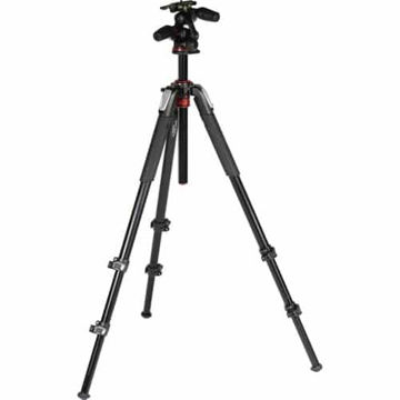 buy Manfrotto MT055XPRO3-3W Aluminum Tripod with 3-Way Pan/Tilt Head in India imastudent.com