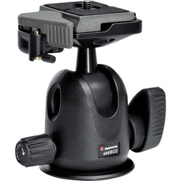 buy Manfrotto 496RC2 Compact Ball Head with 200PL-14 Quick Release Plate in India imastudent.com