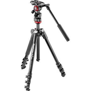 buy Manfrotto Befree Live Video Tripod Kit with Case in India imastudent.com