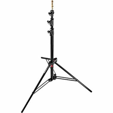 buy Manfrotto Alu Ranker Air-Cushioned Light Stand Quick Stack 3-Pack (Black, 9') in India imastudent.com
