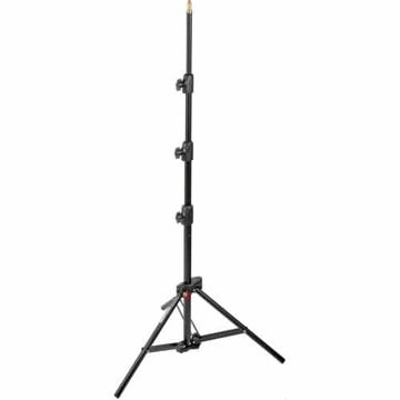 buy Manfrotto Alu Mini Compact Air-Cushioned Stand (Black, 7') in India imastudent.com