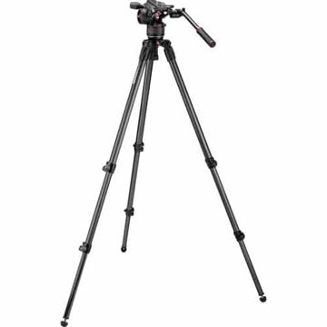buy Manfrotto Nitrotech N8 Video Head & 535 Carbon Fiber Tripod in India imastudent.com