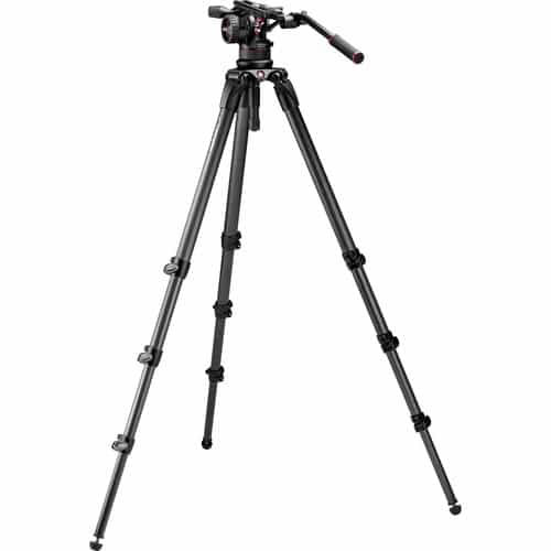 buy Manfrotto Nitrotech N12 & 536 Carbon Fiber Single Legs Tripod System in India imastudent.com
