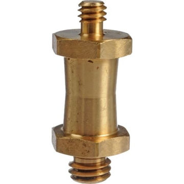 "buy Manfrotto 037 Reversible Short Stud, with 3/8"" & 1/4""-20 Threads (Brass) in India imastudent.com"