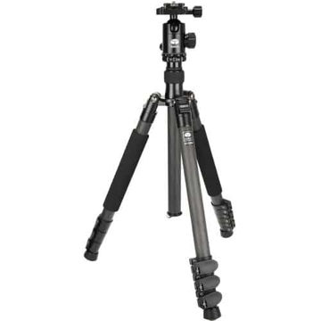 buy Sirui ET-2204 Carbon Fiber Tripod with E-20 Ball Head in India imastudent.com