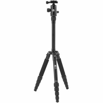 buy Sirui T-005X Aluminum Tripod with C-10S Ball Head (Black)  in India imastudent.com