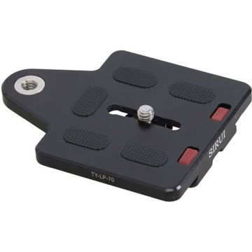 buy Sirui TY-LP70 Arca-Type Quick Release Plate in India imastudent.com