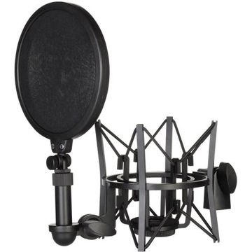 buy Rode SM6 Shock Mount with Detachable Pop Filter Microphone in India imastudent.com
