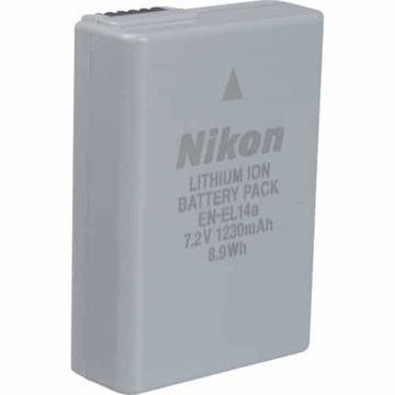 buy Nikon EN-EL14A Rechargeable Li-Ion Battery for Select Nikon Cameras in India imastudent.com