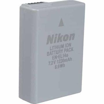 buy Nikon EN-EL14A Rechargeable Li-Ion Battery for Select Nikon Cameras in India imastudent.com