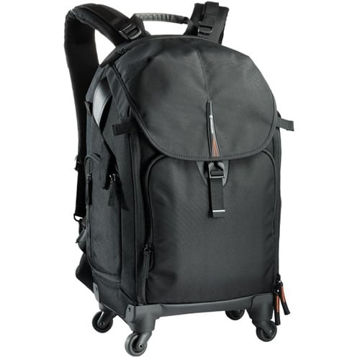 buy Vanguard The Heralder 51T Rolling Backpack (Black) in India imastudent.com