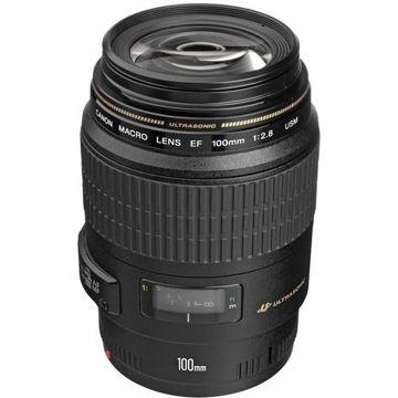 buy Canon EF 100mm f/2.8 Macro USM Lens in India imastudent.com