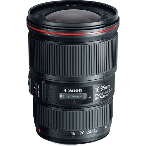 buy  Canon EF 16-35mm f/4L IS USM Lens in India imastudent.com