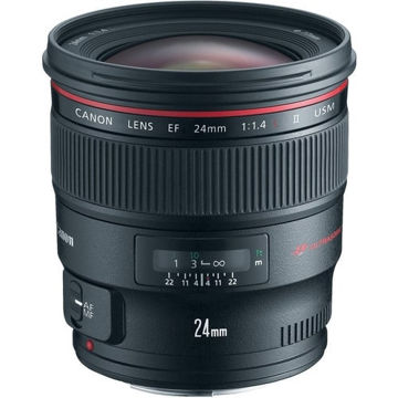 buy Canon EF 24mm f/1.4L II USM Lens in India imastudent.com