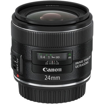 buy  Canon EF 24mm f/2.8 IS USM Lens in India imastudent.com