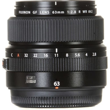 Fujifilm GF 63mm f/2.8 R WR Lens in India imastudent.com