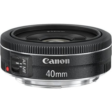 buy Canon EF 40mm f/2.8 STM Lens in India imastudent.com