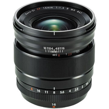 Fujifilm XF 16mm f/1.4 R WR Lens in India imastudent.com