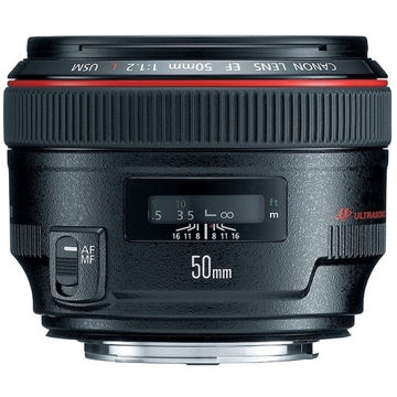 buy Canon EF 50mm f/1.2L USM Lens in India imastudent.com