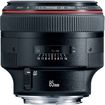 buy  Canon EF 85mm f/1.2L II USM Lens in India imastudent.com
