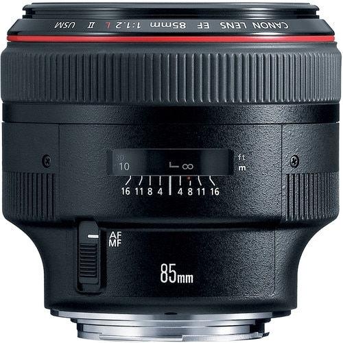 buy  Canon EF 85mm f/1.2L II USM Lens in India imastudent.com