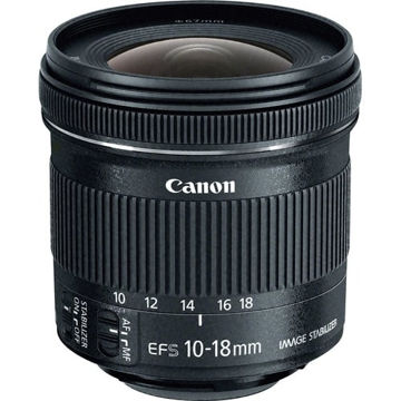 buy Canon EF-S 10-18mm f/4.5-5.6 IS STM Lens in India imastudent.com