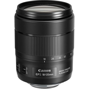 buy Canon EF-S 18-135mm f/3.5-5.6 IS USM Lens in India imastudent.com