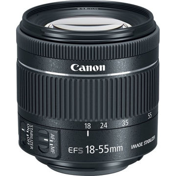 buy Canon EF-S 18-55mm f/4-5.6 IS STM Lens in India imastudent.com