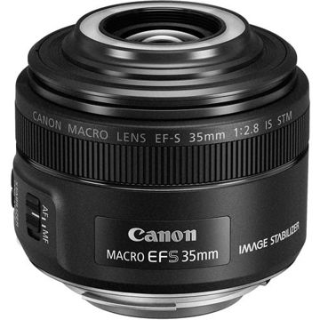 buy Canon EF-S 35mm f/2.8 Macro IS STM Lens in India imastudent.com
