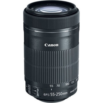 buy Canon EF-S 55-250mm f/4-5.6 IS STM Lens in India imastudent.com