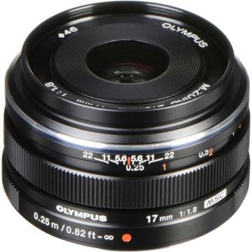 Olympus M.Zuiko Digital 17mm f/1.8 Lens (Black) in India imastudent.com