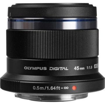 Olympus M.Zuiko Digital 45mm f/1.8 Lens (Black) in India imastudent.com