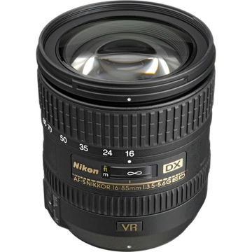 buy Nikon AF-S DX NIKKOR 16-85mm f/3.5-5.6G ED VR Lens in India imastudent.com