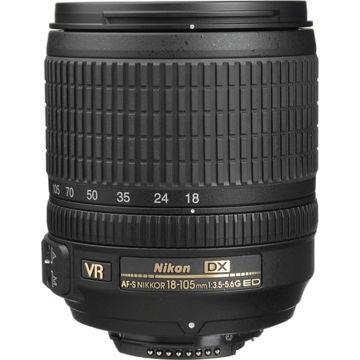 buy Nikon AF-S DX NIKKOR 18-105mm f/3.5-5.6G ED VR Lens in India imastudent.com