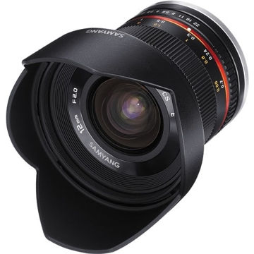 Samyang 12mm f/2.0 NCS CS Lens for Sony E-Mount (APS-C) (Black) in India imastudent.com