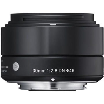 buy Sigma 30mm f/2.8 DN Lens for Micro Four Thirds Cameras (Black) in India imastudent.com