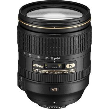 buy Nikon AF-S NIKKOR 24-120mm f/4G ED VR Lens in India imastudent.com
