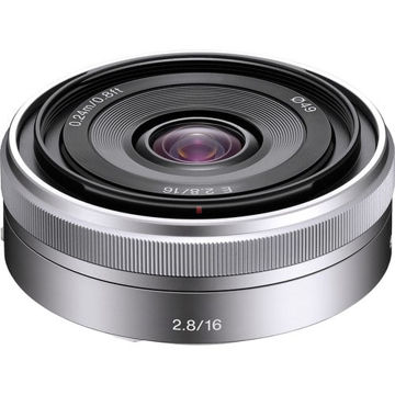 Sony E 16mm f/2.8 Lens (Silver) in India imastudent.com