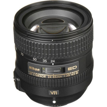buy Nikon AF-S NIKKOR 24-85mm f/3.5-4.5G ED VR Lens in India imastudent.com