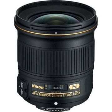 buy Nikon AF-S NIKKOR 24mm f/1.8G ED Lens in India imastudent.com