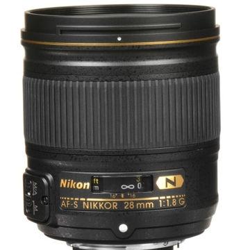 buy Nikon AF-S NIKKOR 28mm f/1.8G Lens in India imastudent.com