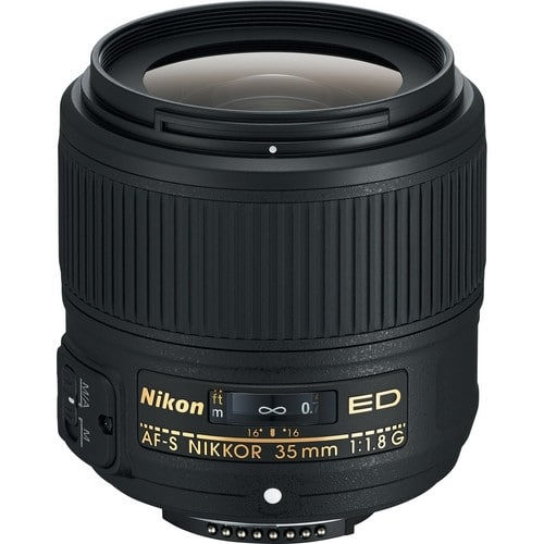 buy Nikon AF-S NIKKOR 35mm f/1.8G ED Lens in India imastudent.com