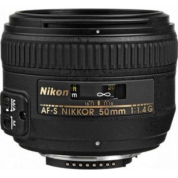 buy Nikon AF-S NIKKOR 50mm f/1.4G Lens in India imastudent.com