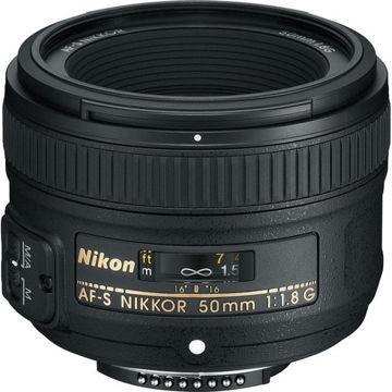 buy Nikon AF-S NIKKOR 50mm f/1.8G Lens in India imastudent.com