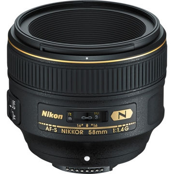 buy Nikon AF-S NIKKOR 58mm f/1.4G Lens in India imastudent.com