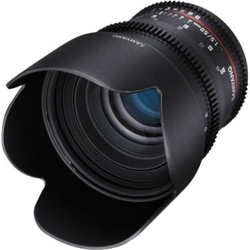 buy Samyang 50mm T1.5 VDSLR AS UMC Lens for Nikon in India imastudent.com