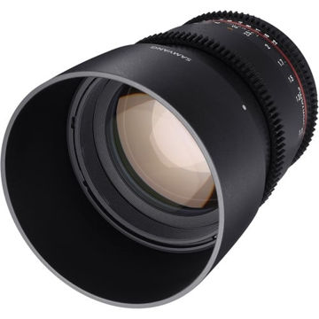 buy Samyang 85mm T1.5 VDSLR II Lens for Canon in India imastudent.com