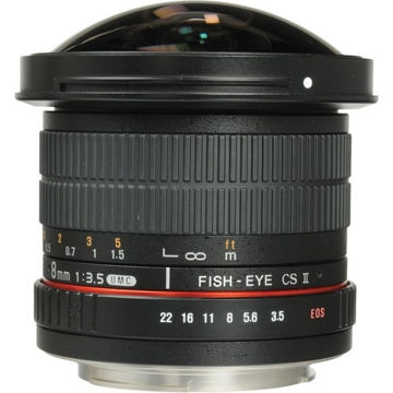 buy Samyang 8mm F3.5 UMC Fish-Eye CS II Lens for Canon in India imastudent.com